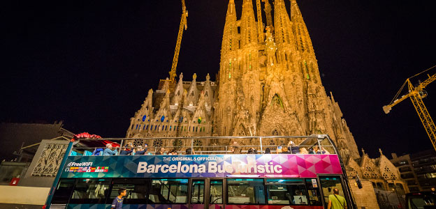 Barcelone Night Tour Bus